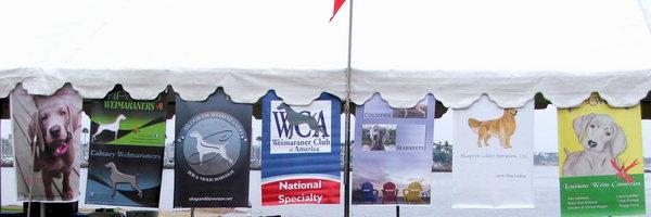 www.southlandweimaranerclub.com - 2014 WCA Nationals - Banners